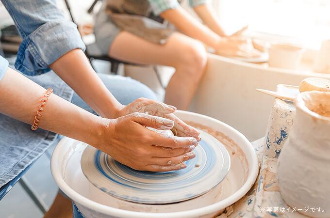 糸島の選べる磁器・陶器陶芸体験